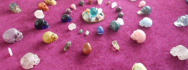 crystal skulls small